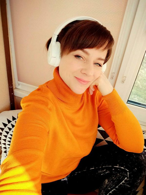 Фото отзыв Гольф LikeOn из 100% мериноса Оранжевого цвета